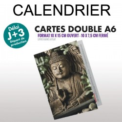 Calendrier 2019 A6 double