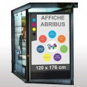 Affiches abribus 120x176