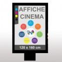 Affiches 120x160 (2m2)