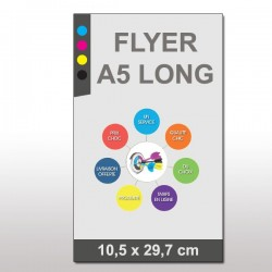 Flyers prospectus A5 long