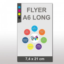 Flyers prospectus A6 long