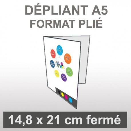 Dépliant A5 4 faces