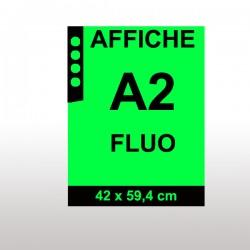 Affiches FLUO A2 VERT