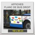 Flanc de bus droit 152x68 cm