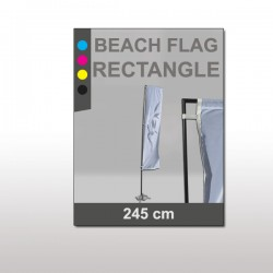 Beach Flag Rectangulaire 4,46m