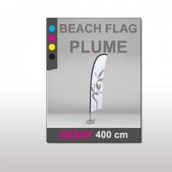 Beach flag Plume Géant 400 cm