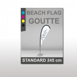 Beach flag Goutte Standard 245 cm