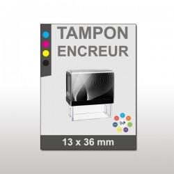 Tampon plastique 13x36 mm