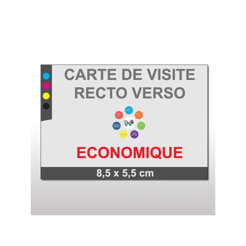 Cartes De Visite ECO Recto Verso