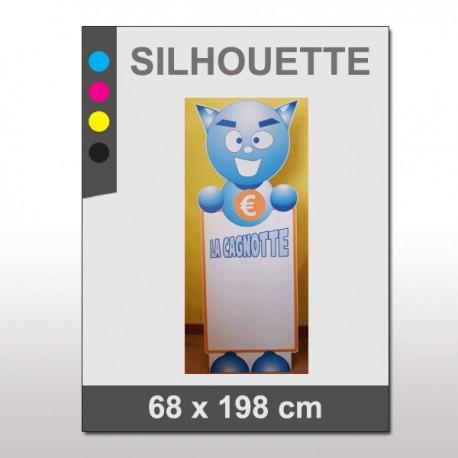 PLV Silhouette 68 x 198 cm