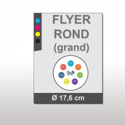 Flyer rond (grand)
