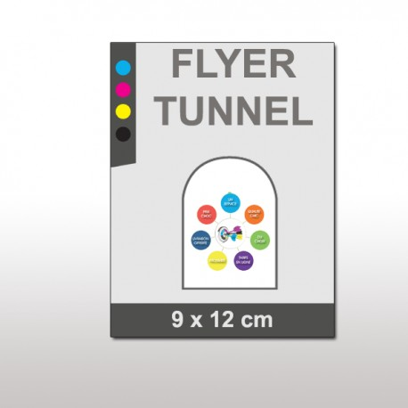 Flyer forme tunnel