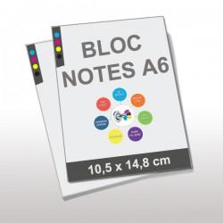Blocs Notes encollés A6