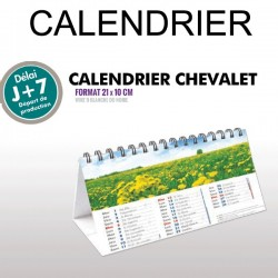 Calendrier chevalet 2019