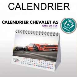 Calendrier chevalet A5 2019
