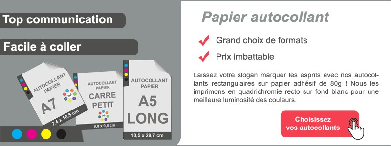 Papier autocollant
